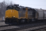 Grand Elk leaves Robert Young yard in Elkhart heading back to Michigan